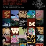 """OTTOBRE 2011 Masitoboy & Wies """"PERIFERIC LOVE"""" ESPOSIZIONE"""