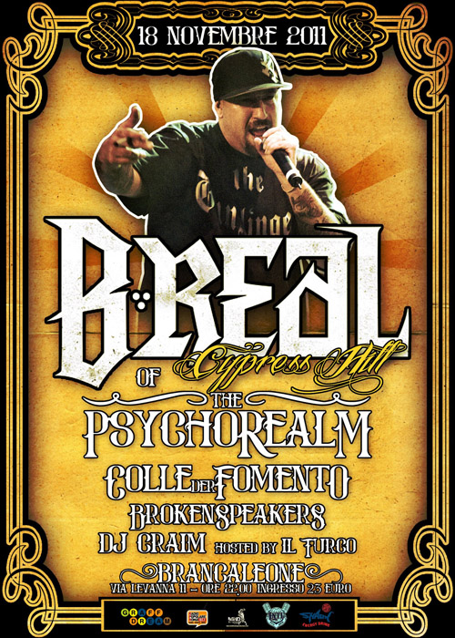 18-11 COLLEDER FOMENTO APRE IL LIVE DI B-REAL (CYPRESS HILL) E PSYCHO REALM